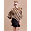 Office & Career / Casual Feather/Fur Ponchos Sleeveless