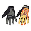 Glove Cycling / Bike All / Men's Full-finger Gloves Anti-skidding / Wearable / Windproof / Wearproof Autumn / Summer / Spring YellowM / L