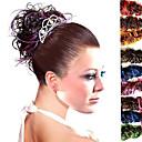 top grade syntetické kudrnaté vlasy kusů více barev k dispozici