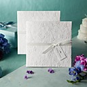 """Non-personalizaton Side Fold Vjenčanje Pozivnice Poziv Uzorak-1 Piece / Set Vintage Style / Cvjetni Style Reljefni papir6 """"x 6"""" (15 *"""