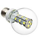 4W E26/E27 LED kulaté žárovky G60 21 SMD 5050 280 lm Přirozená bílá AC 220-240 V