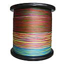 2000m / 2200 Yards Polyethylenový vlasec / Dyneema Balıkçılık MisinalarıZelená / Oranžová / Žlutá / Fialová / Fuchsiová / Červená / Modrá