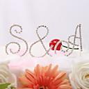 Figure za torte Par Classic / Jastuk Vjenčanje / Bridal Shower / Sretan 16.! / Godišnjica / Rođendan Umjetno drago kamenjeVrt Tema /