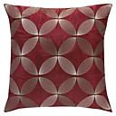 Moderní červená výšivka polyester Dekorativní povlak na polštář