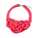 ženske luksuzna gusta pletenje fluorescentna boja ogrlicu