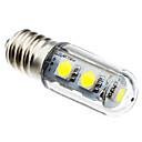 1w E14 vedl kukuřice světla t 7 SMD 5050 80 lm 6000-6500k bílá ac 220-240 v
