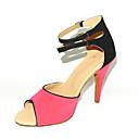 Može se prilagoditi - Ženske - Plesne cipele - Latin / Balska sala - Brušena koža - Prilagođeno Heel