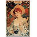 Tiskano Canvas Art Vintage Paris Mardis Gras strane Apple Vintage Collection s produljenom Frame