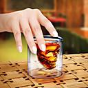 křišťálová lebka skleničku koktejl pivo cup