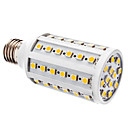 10W E26/E27 LED corn žárovky T 60 SMD 5050 800 lm Teplá bílá DC 12 V