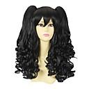 Kovrčava crna kikice 50cm Classic Lolita Wig