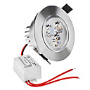 Zatamnjen 3W 1-2800-3300K 210LM Warm White Light LED žarulja oblaka (220)