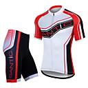 SANTIC® Biciklistička majica s kratkim hlačama Muškarci Kratki rukav BiciklProzračnost / Quick dry / Vjetronepropusnost / Anatomski