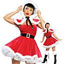Cosplay Kostýmy Vánoční santa obleky Festival/Svátek Halloweenské kostýmy Šaty / Šátek / Pásek Vánoce / Nový rok Dámské Samet
