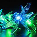 Solarno vrt svjetla, 30 Multi boji Dragonfly LED svjetla (CIS-57178)