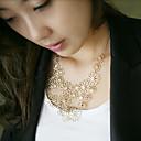 ženske modne izrezati cvjetni ogrlicu