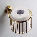 Zlato Kupaonica oprema Puhački držač WC papira