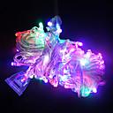 10m duljine 100 LED string svjetla za božićni ukras (miješanih boja)