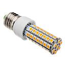 7W E26/E27 LED klipaste žarulje T 63 SMD 5050 620-640 lm Toplo bijelo AC 220-240 V