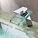 Sprinkle® slavine  ,  Suvremena  with  Krom Single Handle One Hole  ,  svojstvo  for Waterfall Centerset