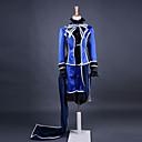 Inspirirana Crna Butler Ciel Phantomhive Anime Cosplay nošnje Cosplay Suits Kolaž Plava Dugi rukav Kaput / Shirt / Hlače / Gloves