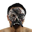 Mask Gusari Festival/Praznik Halloween kostime Crn Print Mask Halloween Uniseks Lateks