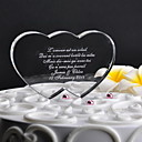 Figure za torte Personalized Hearts Kristal Vjenčanje / Godišnjica Klasični Tema Poklon kutija