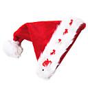 ハット サンタスーツ イベント/ホリデー ハロウィーンコスチューム レッド ハット クリスマス ベルベット