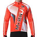 MYSENLAN® Cyklo bunda Pánské Dlouhé rukávy Jezdit na kole Zahřívací / Větruvzdorné / Zateplená podšívka / Nositelnýsako / Dres / Vrchní