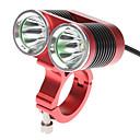 自転車用ライト / 自転車用ヘッドライト LED Cree XM-L T6 サイクリング 充電式 18650 2400 ルーメン バッテリー サイクリング-ダークナイト