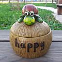 Sretan Tortoise Cartoon Pepeljara