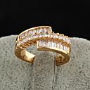 Xinxin Ženska 18K Gold Cirkon Ring J0462
