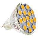 5W GU5.3(MR16) LED reflektori MR11 15 SMD 5050 250-280 lm Toplo bijelo AC 12 V
