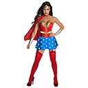 Cosplay Nošnje / Kostim za party Super Heroes Festival/Praznik Halloween kostime Srebrna / Plav Kolaž Haljina / Glava / PlaštHalloween /