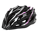 MOON Cyklistika Pink + Black PC / EPS 28 Vents MTB přilba