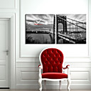 Golden Gate Bridge zid sat u platnu 2kom