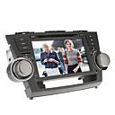 8inch 2 din in-dash auto DVD player za Toyota Highlander 2008-2012 sa GPS, BT, iPod, RDS, zaslon osjetljiv na dodir