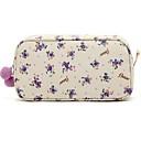 Kutija za šminku Plastična vrećica / Kutija za šminku Cvijet 21x11x6 Crvena / Obala