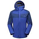 キャンプ用の牧野メンズ防水防風取り外し可能な長袖のジャケット
