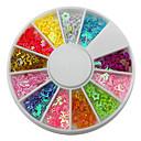 12-Color Hollow Mješoviti Shaped Loving Heart Star Nail Art Dekoracije