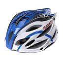 FJQXZ Unisex Vanjski PC + EPS 22 OTVORI plava + bijela Biciklizam Hlemets