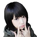 Bez poklopca kratka kosa Sintetička Side Bang perika 3 boje dostupne