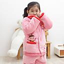 Hugmii Dětské sety Cartoon Cotton Silný noční prádlo (Pink Bee)