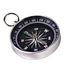 Prijenosni Metal Kompas s Keychain (Large) - Silver
