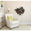 3DThe Dinosaur Oči Wall Stickers Lepicí obrazy na stěnu