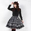 Crna Prilično Lolita Fairy Royal Crown Princess Kawaii Suknja Lovely Cosplay