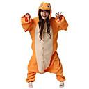 Kigurumi Pyžama Drak Leotard/Kostýmový overal Festival/Svátek Animal Sleepwear Halloween Oranžová Patchwork polar fleece Kigurumi Pro