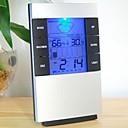"2.7 ""LCD Luminous Vremenska prognoza termometar + Vlagomjer w / Budilica"