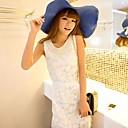 韓国女子Sleevlessパールレディドレス