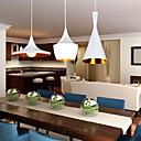 Max 60W Mini Style Painting Metal Privjesak Svjetla Bedroom / Dining Room